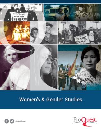 Resources for Women's & Gender Studies