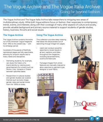 Vogue and Vogue Italia